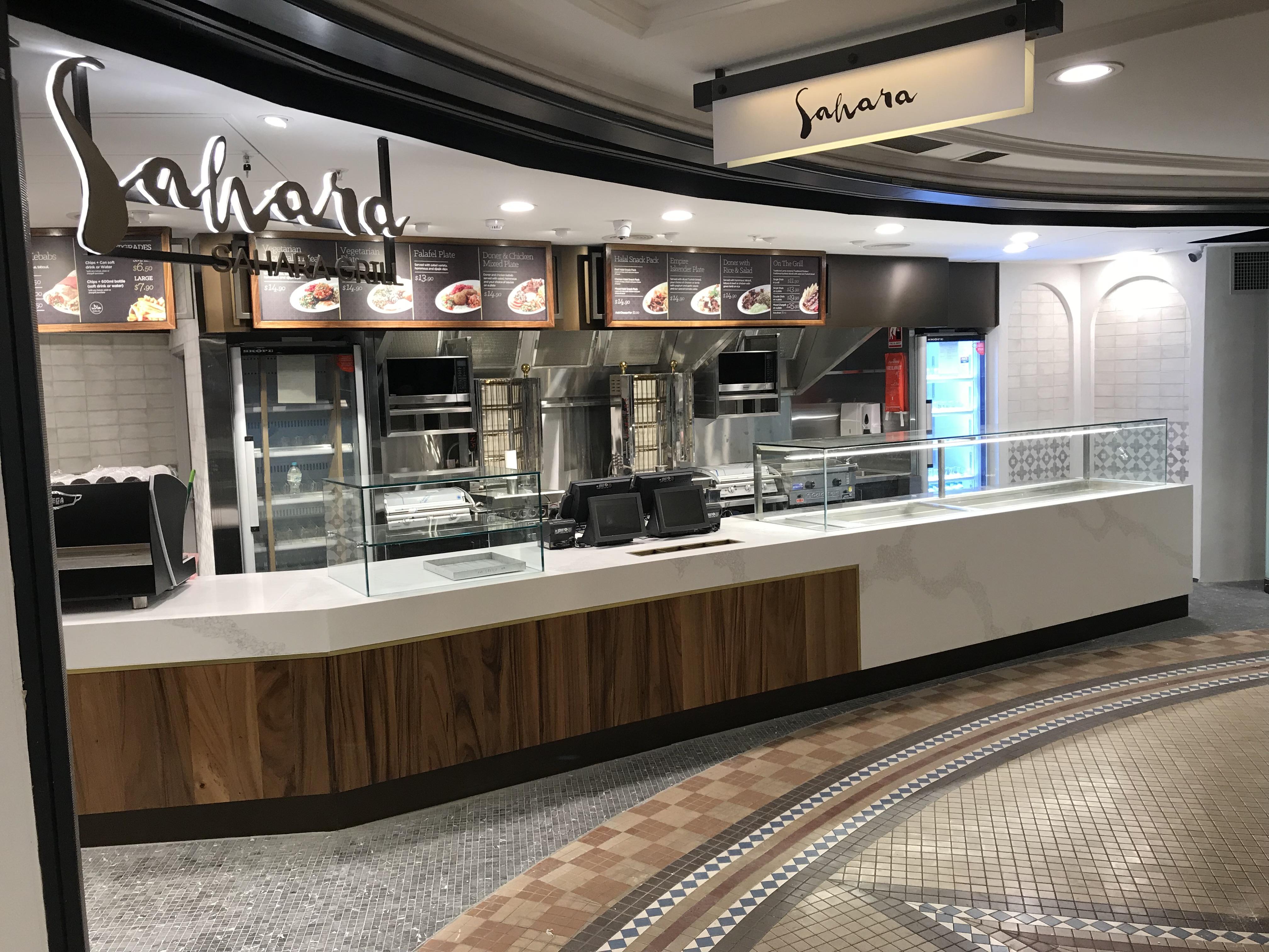Sahara CBD shop fitout