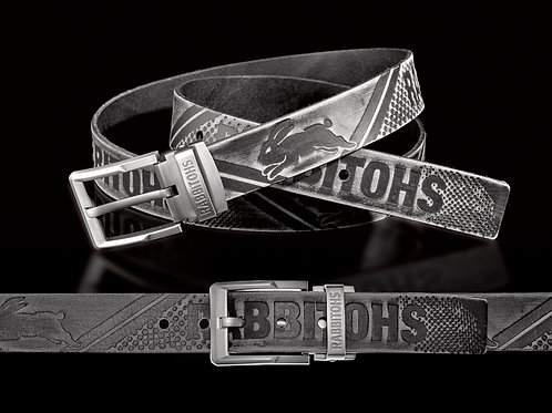 South Sydney Rabbitohs Leather Belts