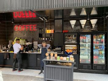 coffee shop fitout