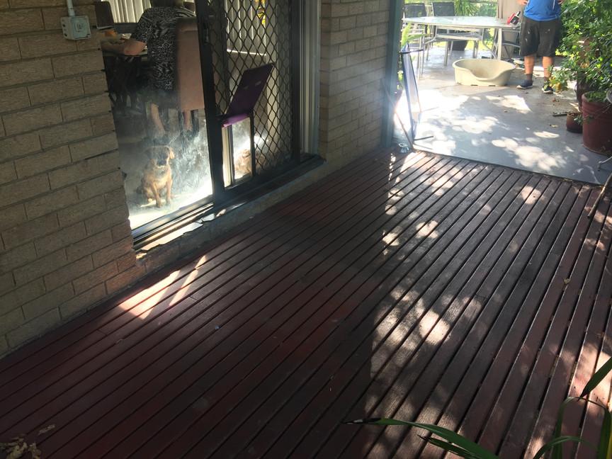 Threshold Ramp Photo 03 before