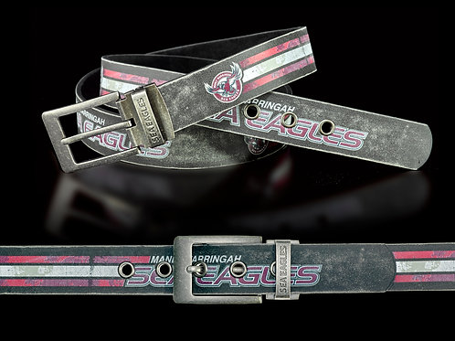 Manly Sea Eagles PU/Leather Colour Belt