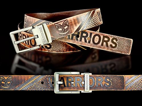 New Zealand Warriors Leather Belts