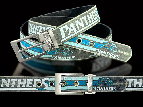 Penrith Panthers PU/Leather Colour Belt