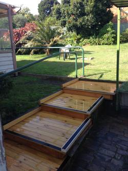 Platform Step Installation