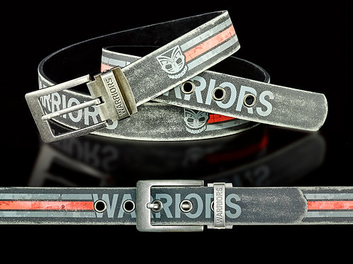 New Zealand Warriors PU/Leather Colour Belts