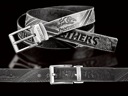 Penrith Panthers Leather Belts