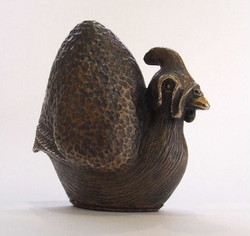 Gerald, Guinea Fowl. Bronze limited edition of 15