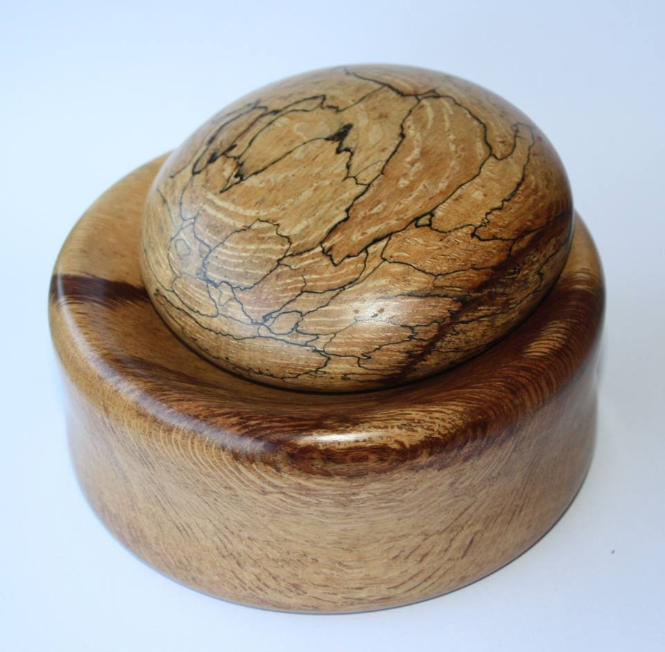 Fresh Herb Pestle & Mortar in Spalted Cape Beech