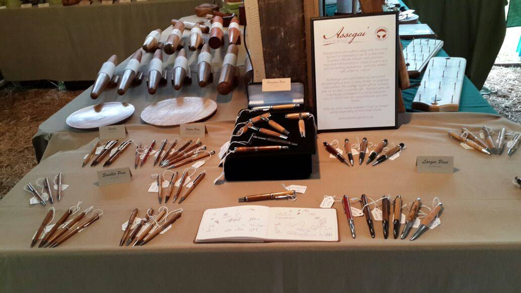 Our range of pens at The Harkerville Market from 8am to 12pm