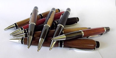 Assegai Pens of Wood