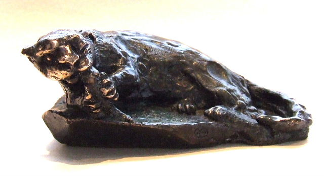 Cape Clawless Otter. Bronze limited edition of 3