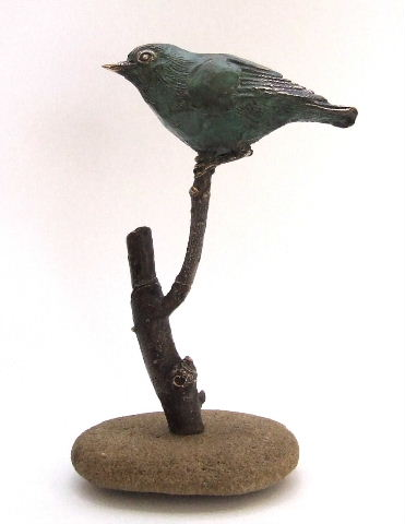 Jerome, Cape White-Eye, Bronze limited edition of 11