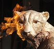 Du Toit Sculpture Life Size Cheetah