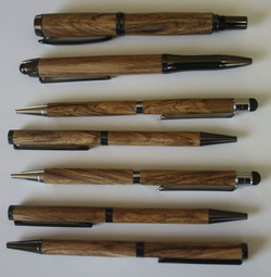 Selection of Pens in Ironwood
