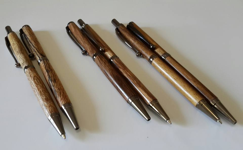 Matching pen & pencil sets