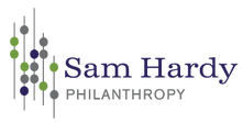 Sam Hardy Philanthropy website built by mad dog lola emarketing