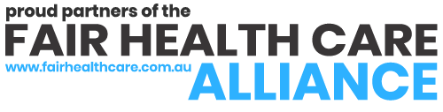 a picture of fair health care alliance logo