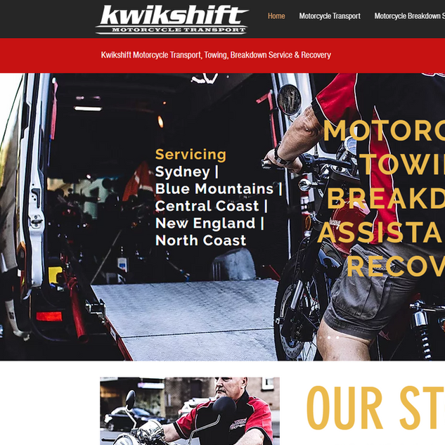 Kwikshift Motorcycle Transport