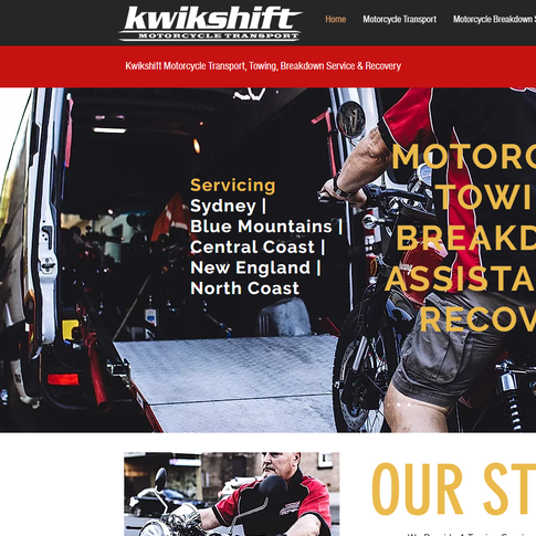Kwikshift Motorcycle Transport