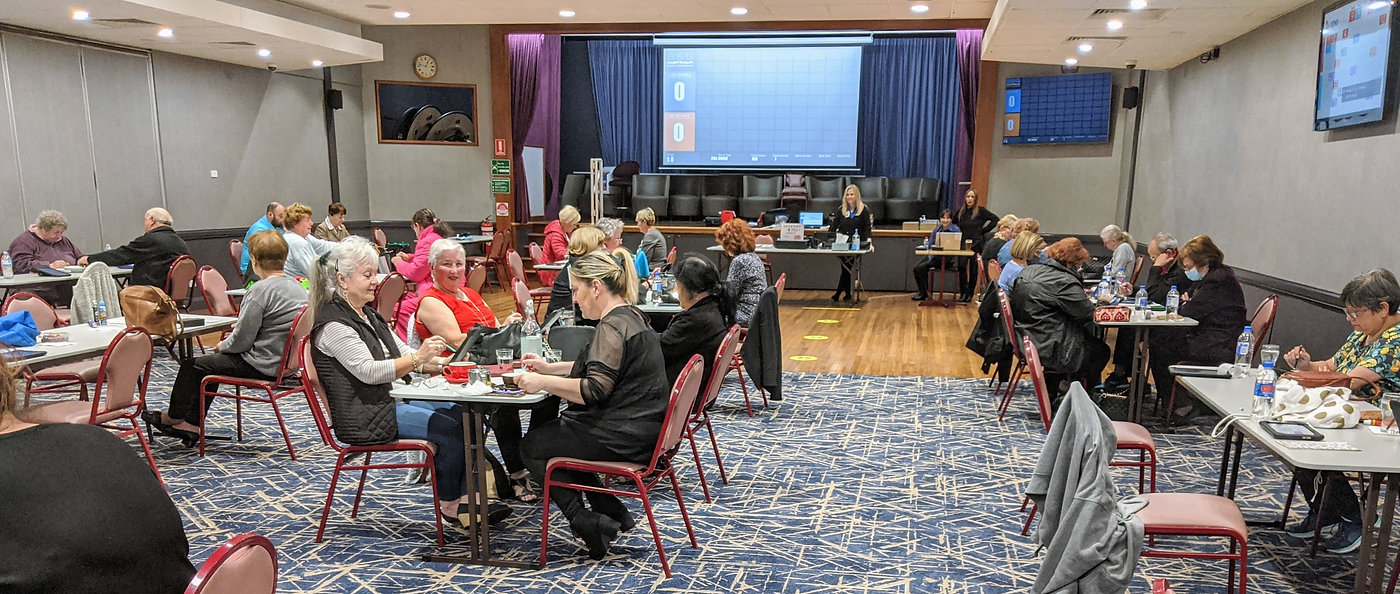 Play Bingo at Ashfield RSL Club