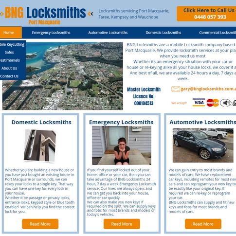 BNG Locksmiths Port Macquarie