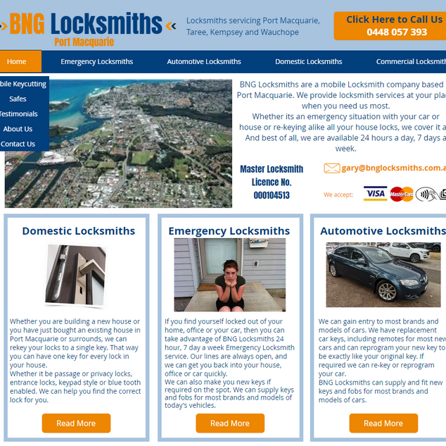 BNG Locksmiths Port Macquarie