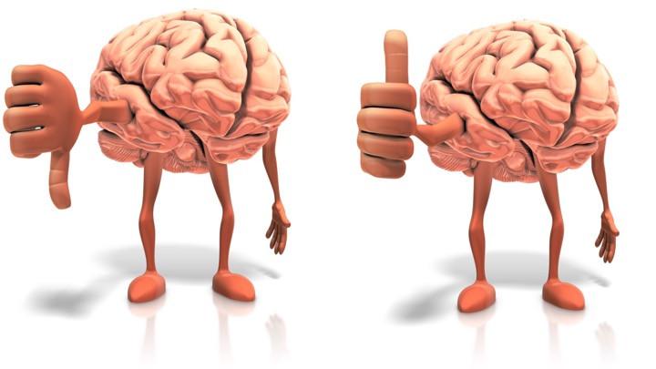 Positive versus negative programs