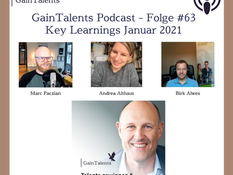 Podcast #63: Key Learnings aus Januar 2021 mit Andrea Althaus, Birk Alwes und Marc Paczian