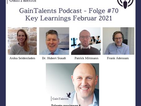 Podcast #70: Key Learnings aus Februar 2021