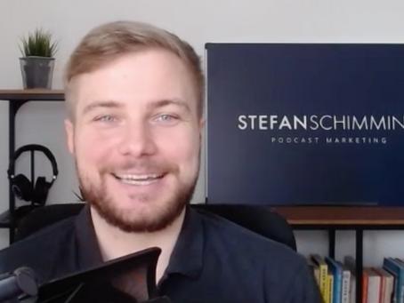 """""""Wie unterstützt ein Podcast den Aufbau einer Arbeitgebermarke?"""" mit Stefan Schimming"""