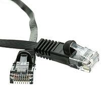 Tech Nerds Cat6 Flat Ethernet Cable 15ft