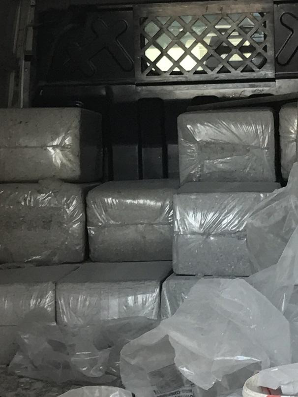 materiale in sacchi da insufflare