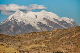 Mt Illiami, Bolivian Andes