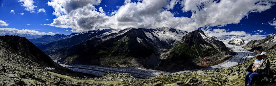 Aletsch Glacier, Switzelnd
