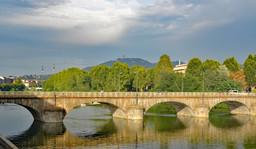 River Po Bridge, Turin, Italy