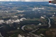 Rhine River, Switzerland