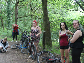 Positive Activities: Cycling in the Forest of Dean!