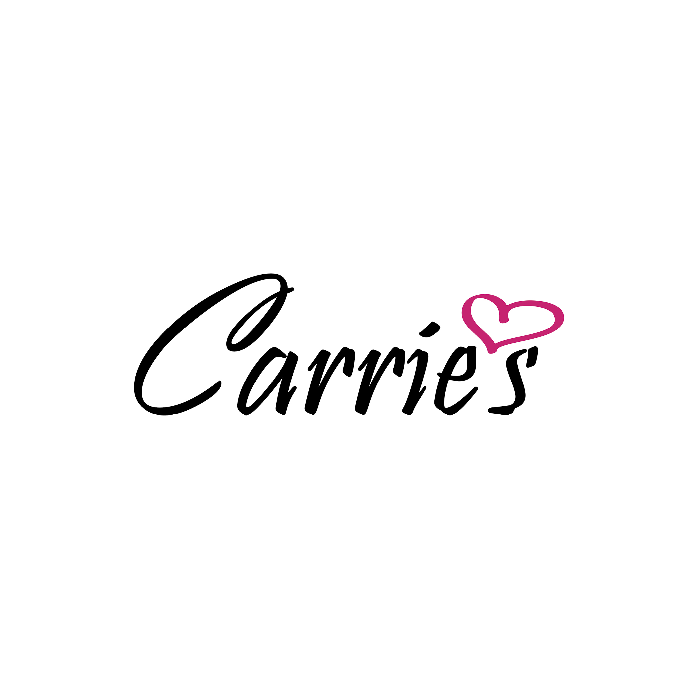 Logo for Carrie's