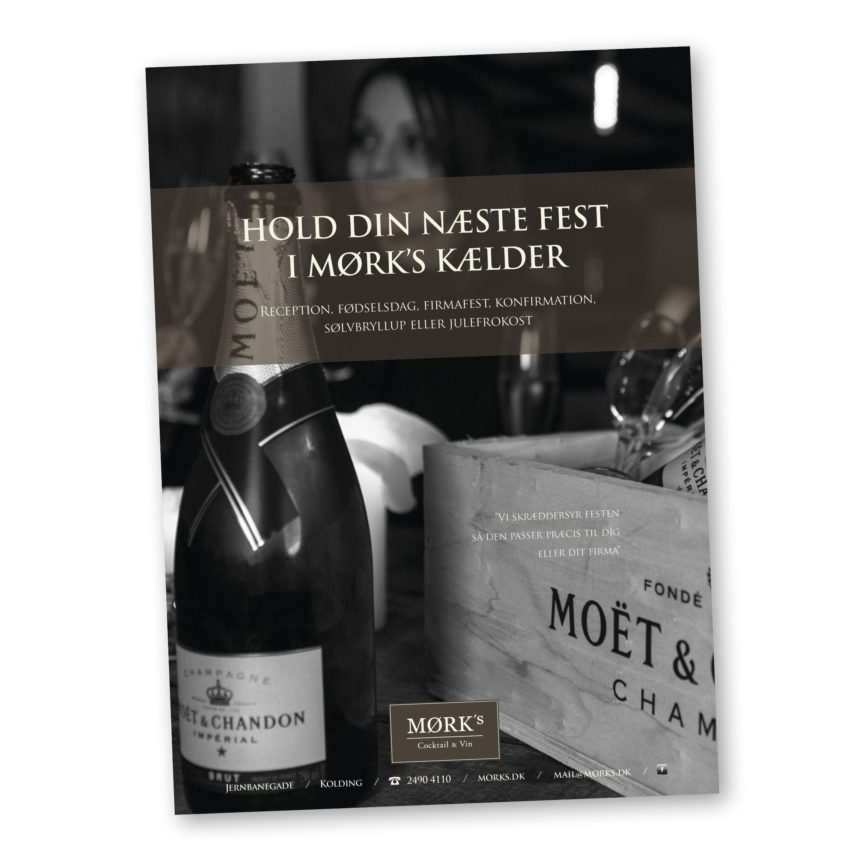 Annonce for MØRKS Kælder
