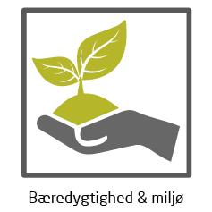 ikon bæredygtighed & miljø