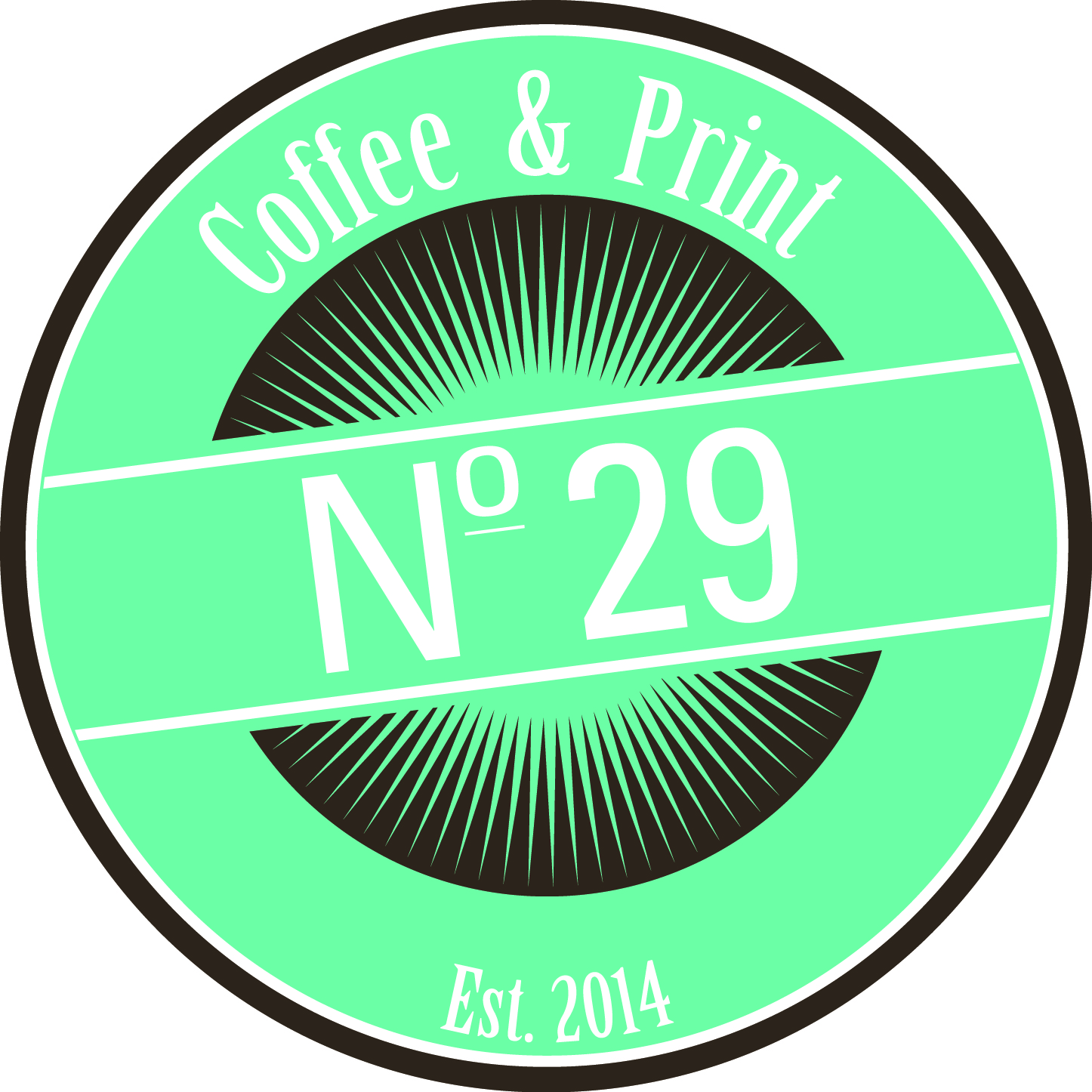 Logo til No 29 Coffee & Print
