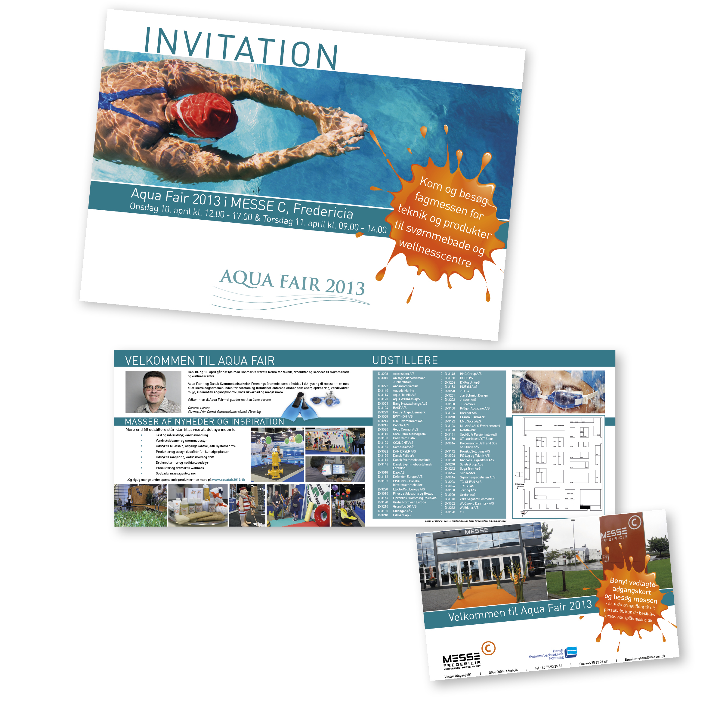 Folder designet for MESSE C