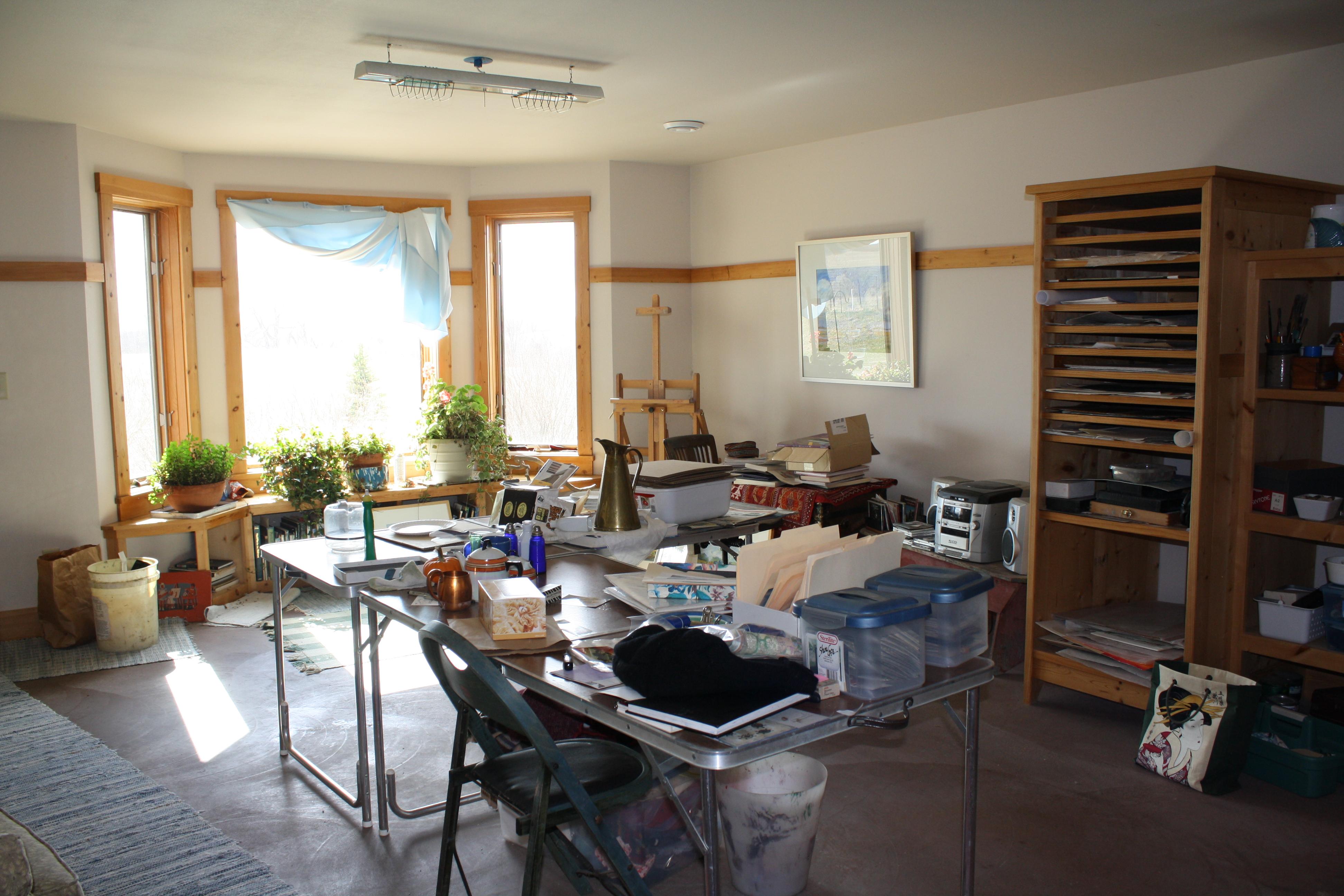 family room  2 before