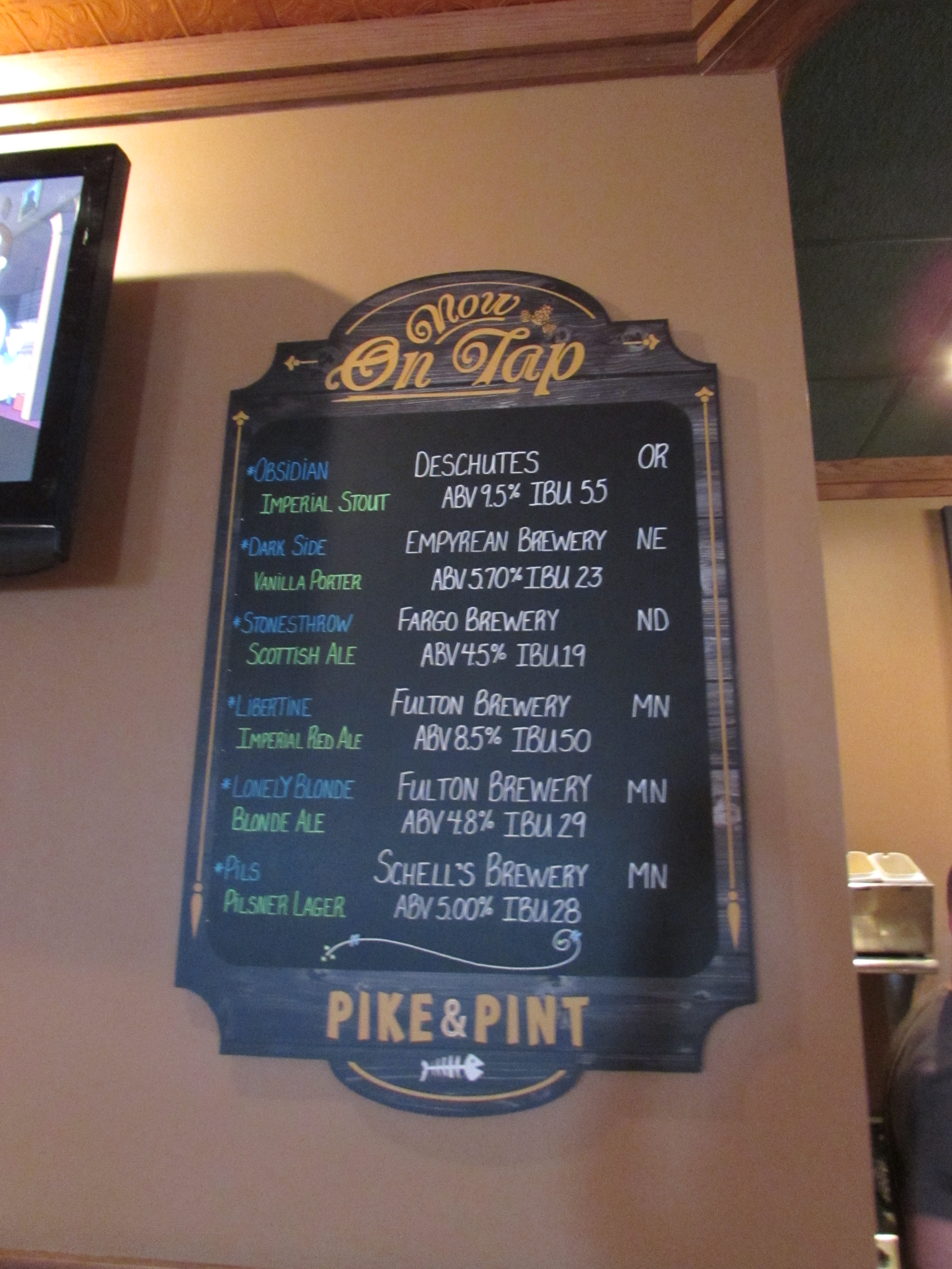 On Tap signs custom made