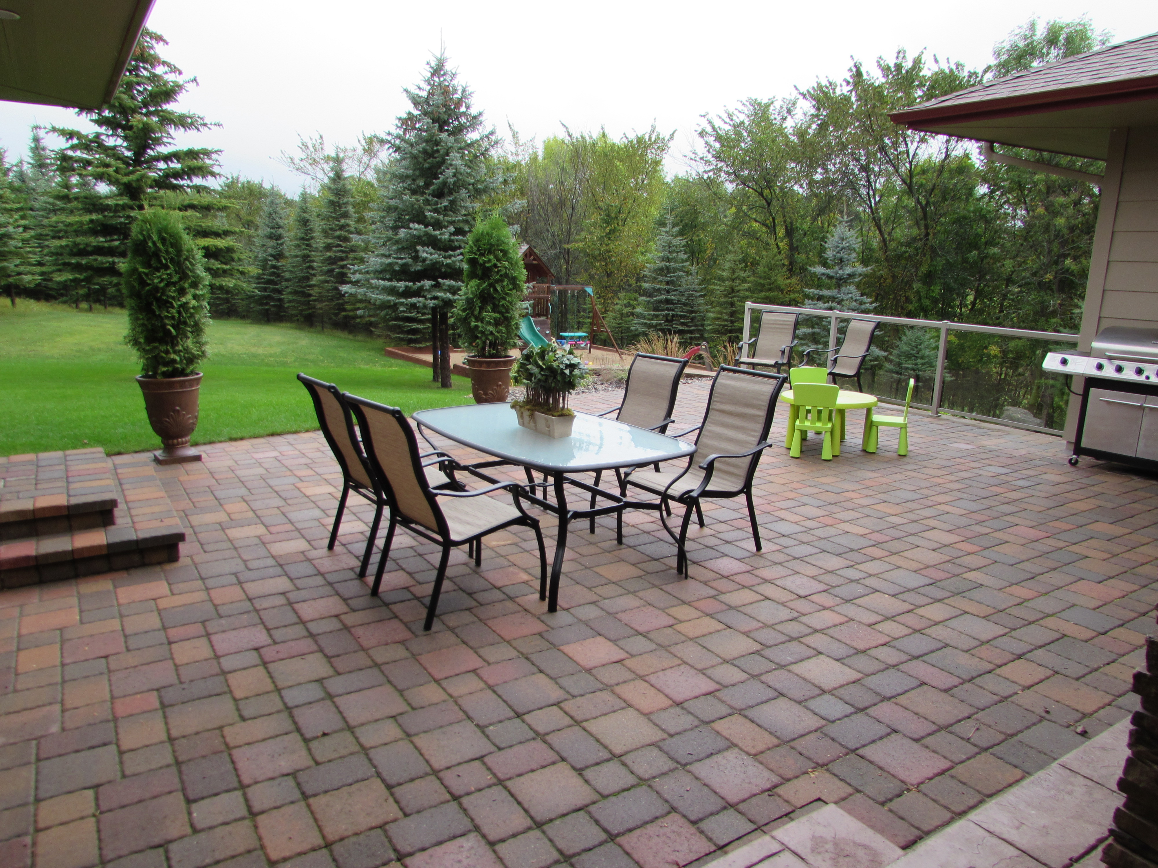 patio living space
