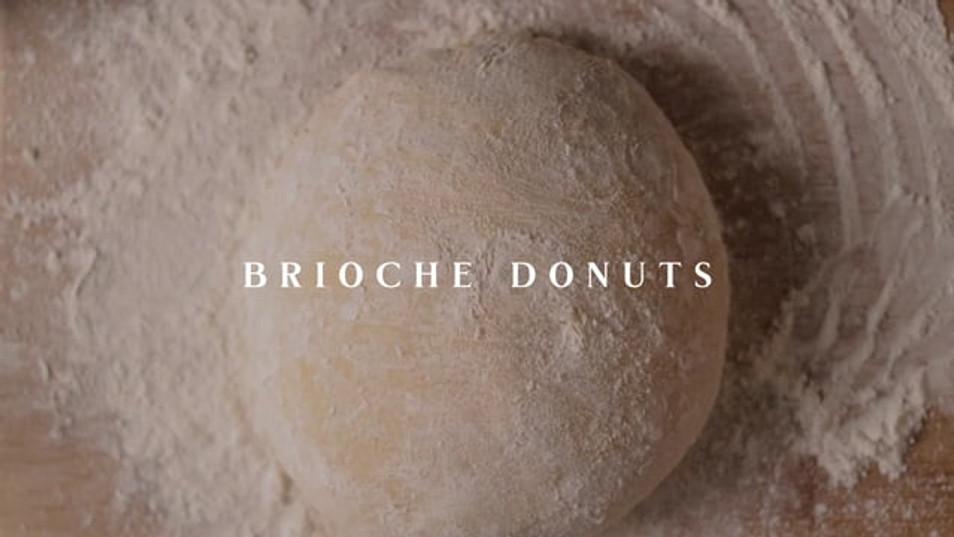 Brioche Donuts