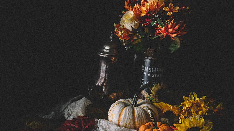Pumpkin Still Life 2 Print