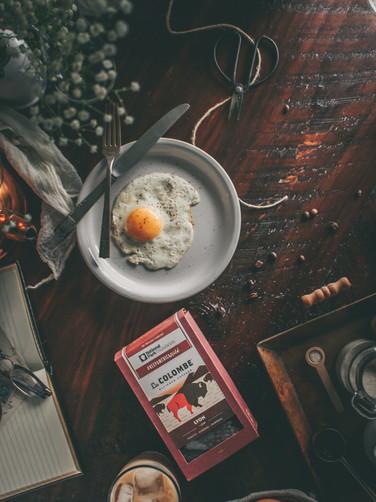 Egg & Coffee Still Life