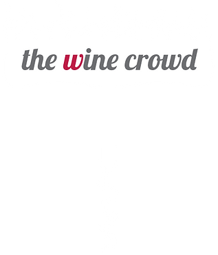 The Wine Crowd Logo White