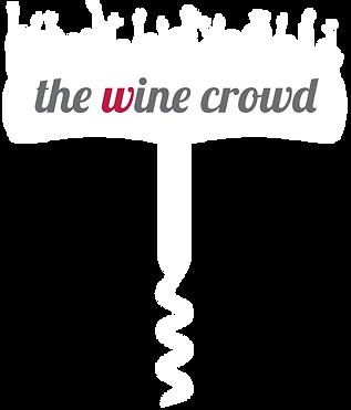 The Wine Crowd Logo White